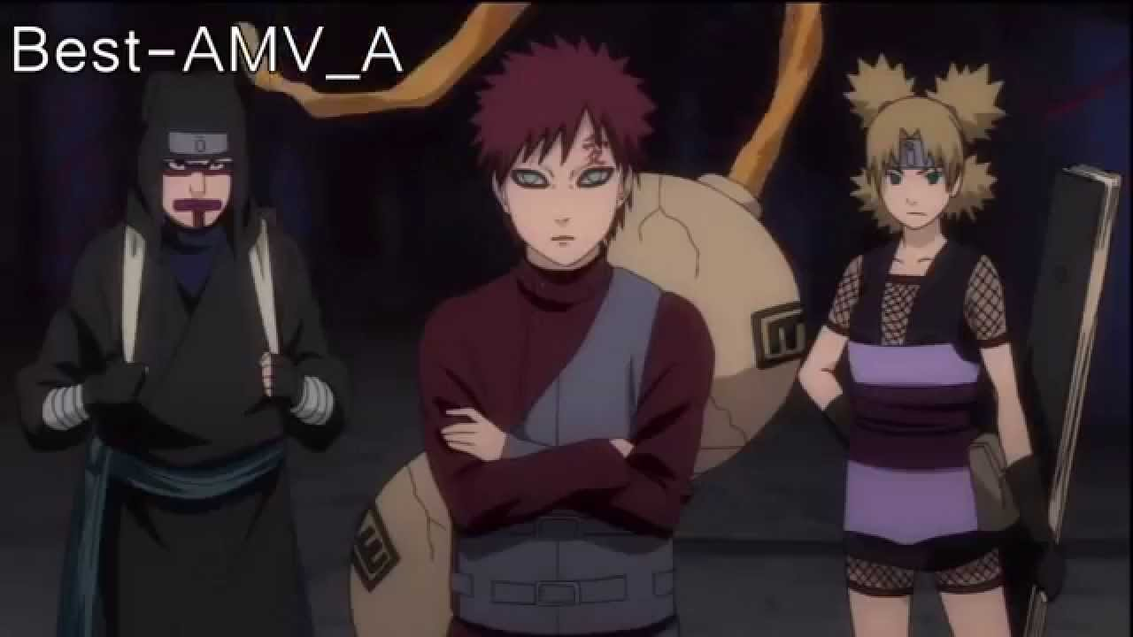 sasuke vs gaara naruto shippuden amv vindicator youtube