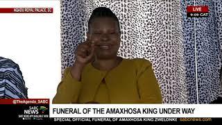 AmaXhosa King Funeral | Obituary By Noxolo Grootboom (audio)