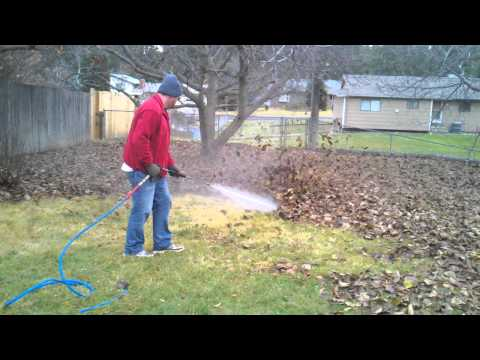 hack how to clear jammed leaf mulcher