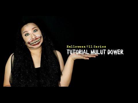 Cantik Tapi Dower    Tutorial Membuat Bibir Dower    Halloween 911 Series