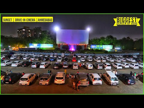 DRIVE-IN-CINEMA 📽️ | AHMEDABAD | *Movie*