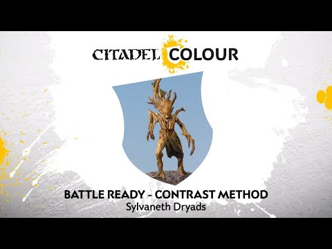 How to Paint: Battle Ready Sylvaneth Dryads – Contrast Method