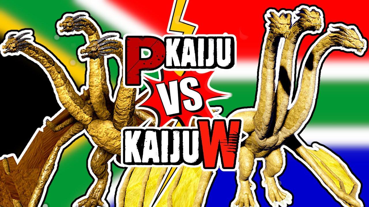 Project Kaiju Vs Kaiju World ! King Ghidorah   ROBLOX