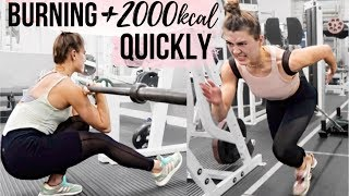 MARATHON CALORIE BURN: ARE WEIGHTS FASTER? || CARDIO VS WEIGHTS CHALLENGE