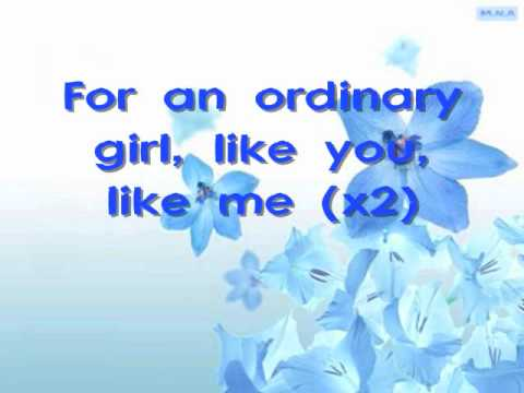 Hannah Montana Forever (Miley Cyrus) - Ordinary Girl [Lyrics]