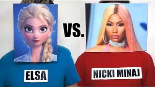 Female Rappers vs. Disney Princesses - RAP BATTLE