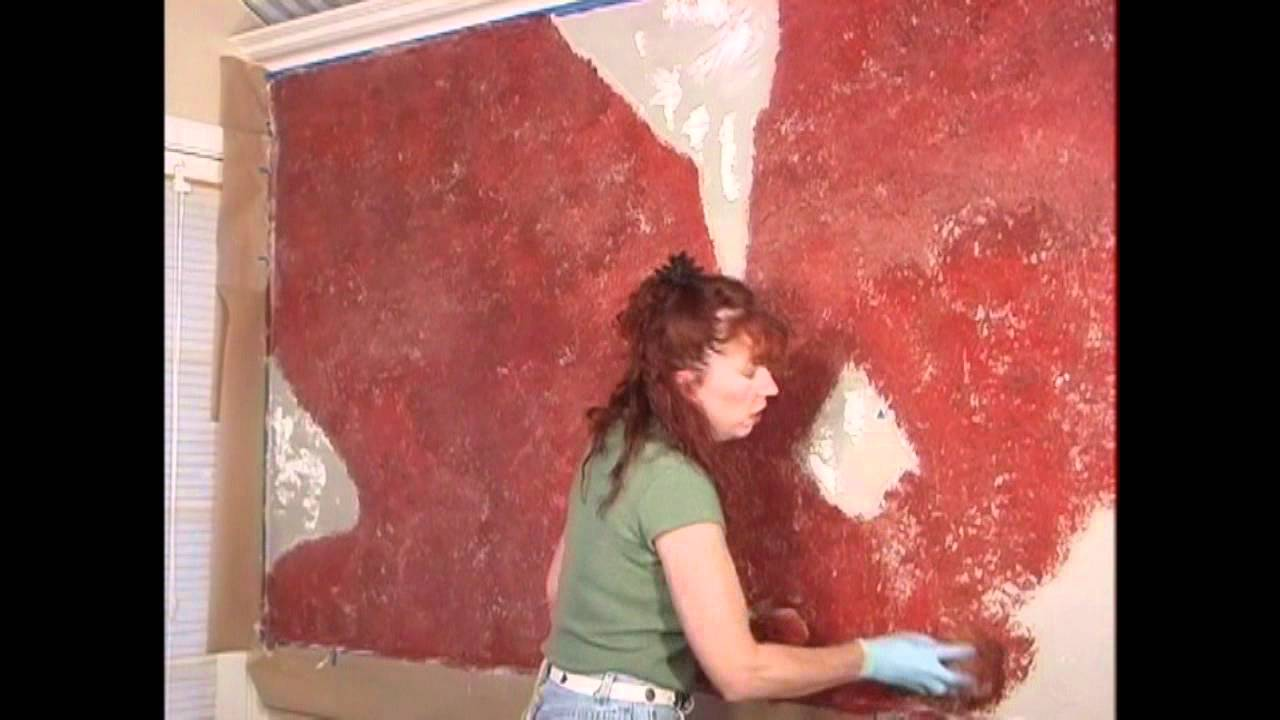 Diy How To Paint A Distressed Red Brick Faux Finish