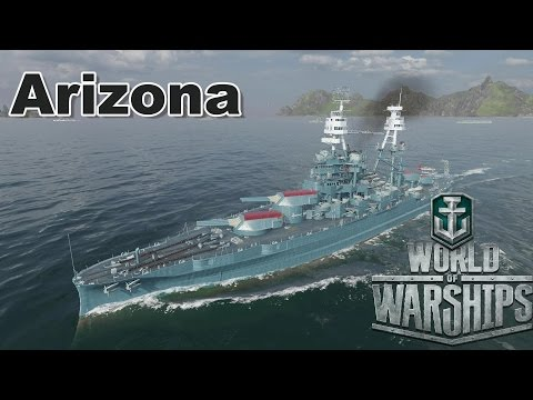 World of Warships: Arizona, A Very Close Game