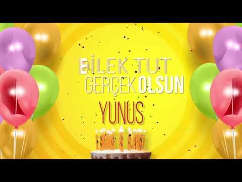 İyi ki doğdun YUNUS- İsme Özel Doğum Günü Şarkısı (FULL VERSİYON)