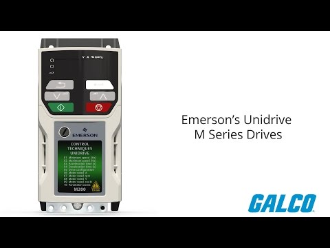 Emerson's Unidrive M Series Drives - YouTube on
