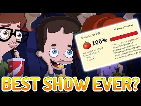 Netflix's Big Mouth Has Big Praise! Best Netflix Animated Series Ever?