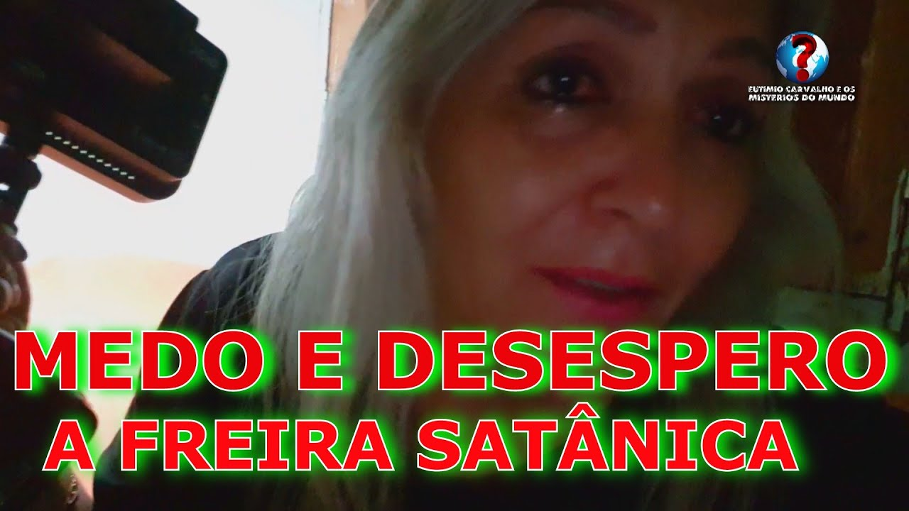 A VIDENTE SUELLY DORME NA VELHA CASA DA FREIRA DISCIPULA DE SATANÁS