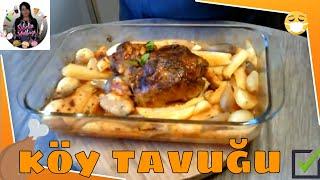 ( Yemek ) Köy Tavuğu Tarifi / Köy Tavuğu Nasıl Pişirilir ? Sibelin mutfağı ile yemek tarifleri
