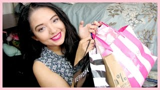 BIRTHDAY HAUL ♡ Sephora, The Body Shop, Forever 21 & More! Thumbnail