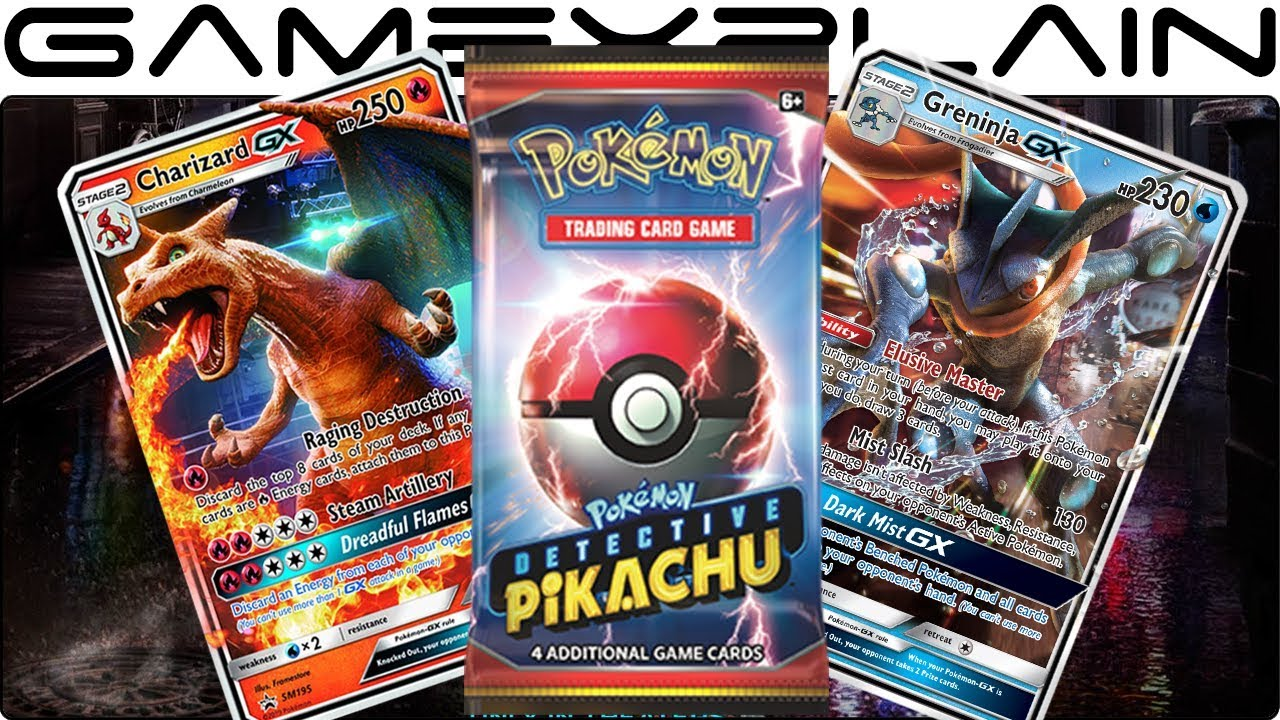 Cg Pokemon From Detective Pikachu Movie Coming To The Trading Card