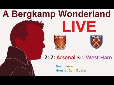 #ABWLive : 217 - Arsenal 3-1 West Ham Utd (Premier League)