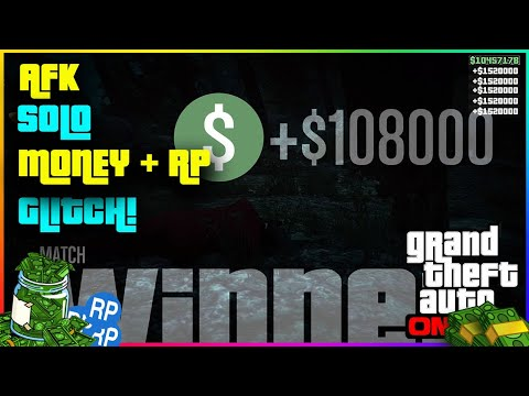 *NEW* GTA 5 Insane Solo AFK! Money Method/Glitch + RP Ps4, Xbox One and PC