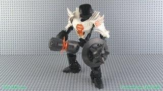 Hero Factory MOC - A Faceless One (white/orange)