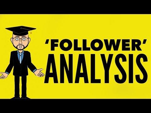 Seamus Heaney: 'Follower' Mr Bruff Analysis