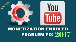 How to enabled monetization on youtube channel 2017 problem fix || 100 % PROOF