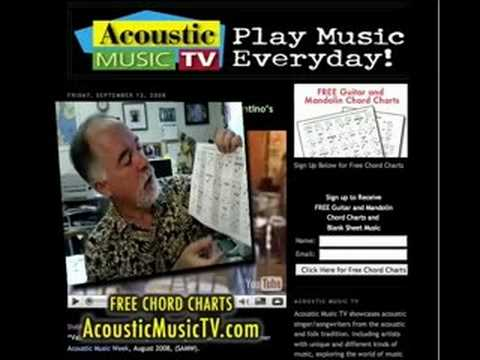 AcousticMusicTV Printable Guitar Chord Diagrams