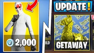 * BIG* Fortnite 5.4 Update! | Wild Card Bonus, neuer Artikel, Getaway LTM!