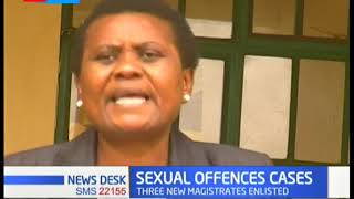 Judiciary lists 3 magistrates to sit at Makindu law court to tame sexual offences in the area.