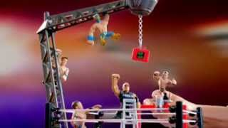 WWE Rumblers Money in the Bank commercial