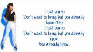 Karmin - I Told You So (Studio Version) Lyrics Video