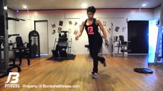 Bombshell Fitness - Skater Lunge