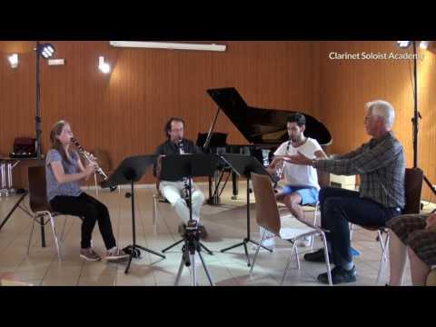 AART ROZEBOOM working on Mozart's style.