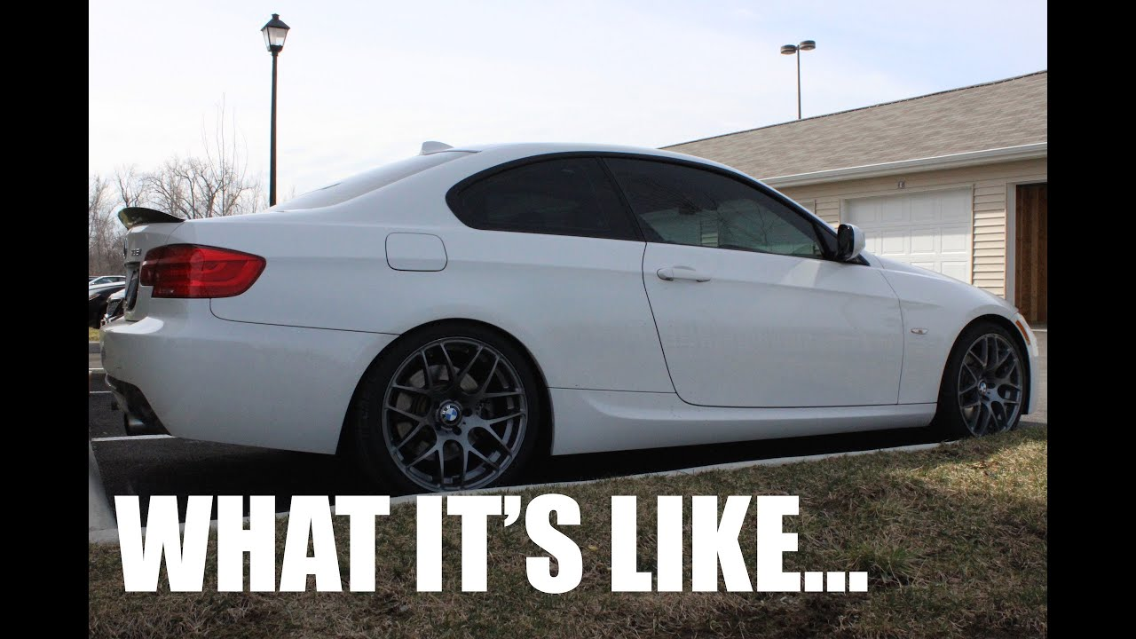 What It's Like Having Aftermarket Wheels - VMR710 & BMW 335i