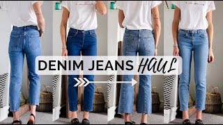 DENIM JEANS HAUL - ASOS + & OTHER STORIES - Finding denim jeans that fit after weight loss