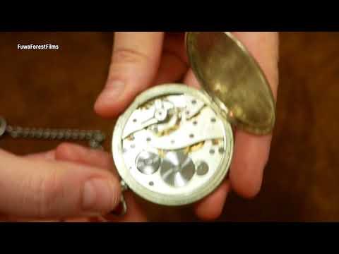 Junghans Vintage Taschenuhr Von Antikuhrenbörse In Eisenbach | Uhr Clock Watch