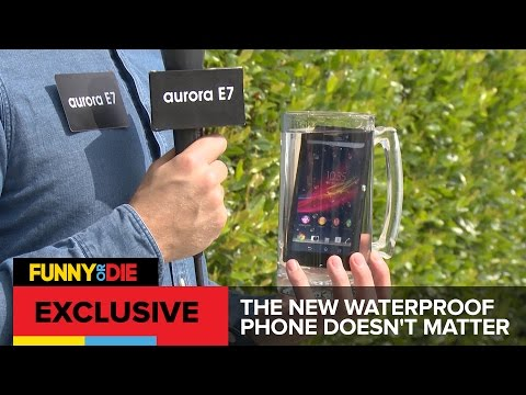 The New Waterproof Phone Doesn't Matter (Samsung vs Apple Parody)