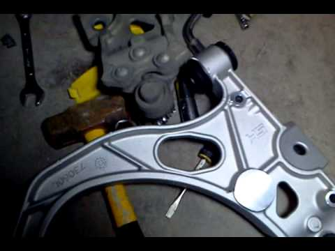 how to make control arms