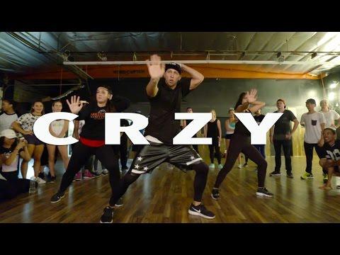"""CRZY"" - Kehlani Dance   @MattSteffanina Choreography #CRZYstrong (Crazy)"