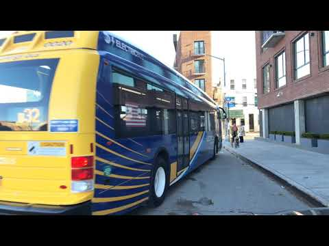 MTA New York City Bus 2017-18 Proterra Catalyst 0020 on the B32