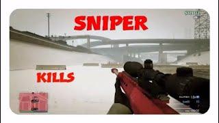 GTA 5 - Best sniper kills ( ps4)