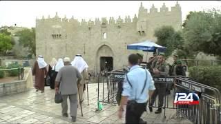 تشديد الإجراءات الأمنية ورفع القيود عن الصلاة في المسجد الأقصى