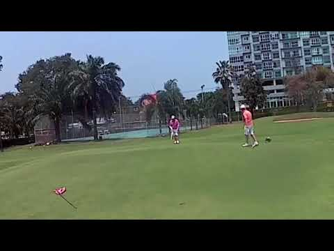 9th Hole ZZ Birdie Puttt Asia Pattaya Golf Course Thailand