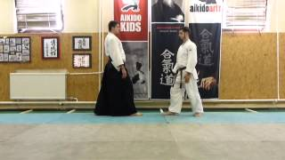 aihanmi katatedori shihonage omote [TUTORIAL] Aikido empty hand basic technique