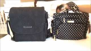 Petunia Pickle Bottom Boxy Backpack vs Ju-Ju-Be BFF Packing and Comparing