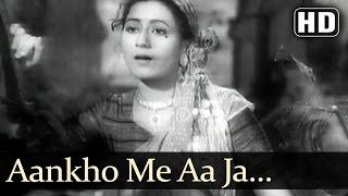 Aankho Me Aa Ja Dil Me Samaja - Dulaari Song - Madhubala - Lata Mangeshkar - Vintage Bollywood Songs
