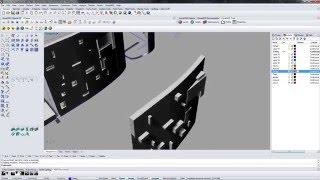 Rhinoceros 5.0 ВИДЕОУРОК построение рельефа для объекта №5