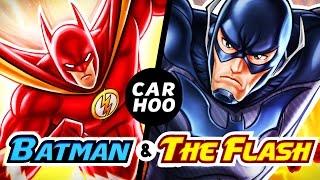 CARHOO Draws【 Batman X Flash  】