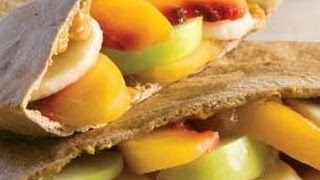 How To Prepare Peachy Peanut Butter Pita Pockets-  Healthy Food, Funny Hot Recipes,healthy Tips