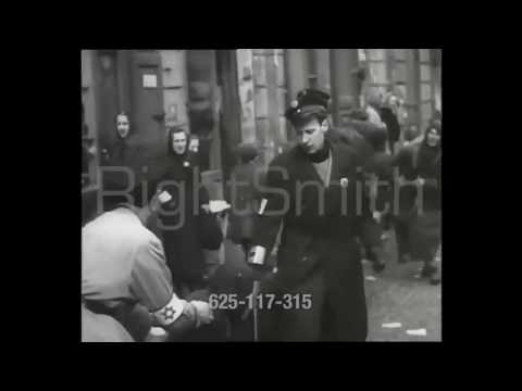 Antysemityzm żydowskiej policji. Film z getta warszawskiego [wideo nr 1]