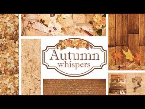 Ciao Bella Paper Collezione Autumn Whispers