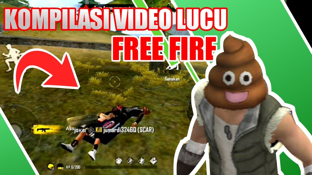 Kompilasi Video Lucu Free Fire